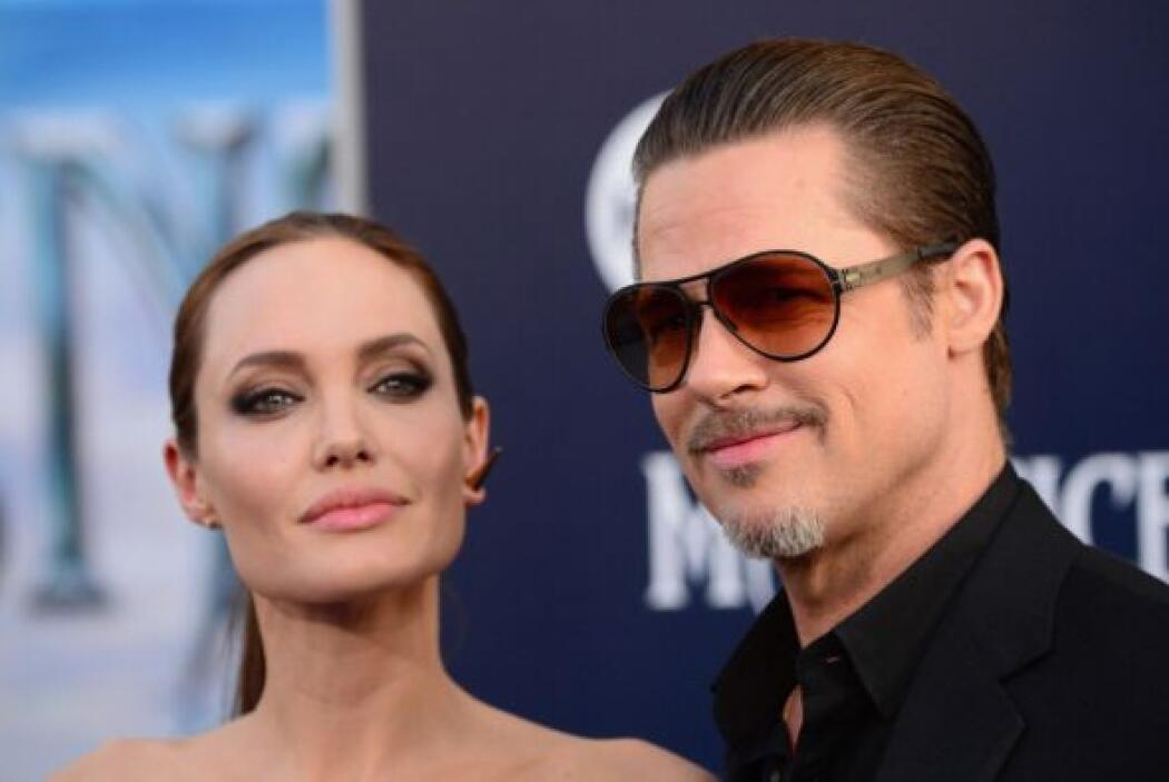 Aquí tienen un nidito de amor Angelina Jolie y Brad Pitt.
