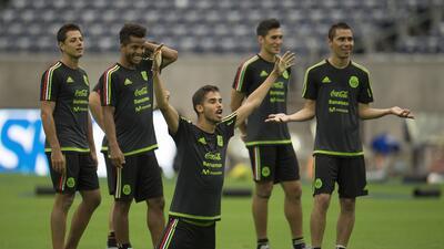 México entrenamientos.