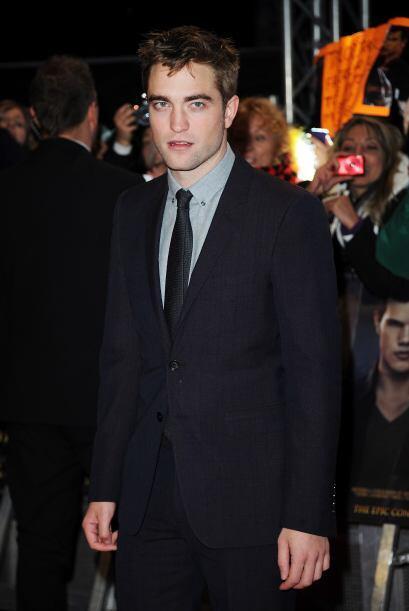 Asimismo, Robert Pattinson, una de las estrellas de la mega producci&oac...