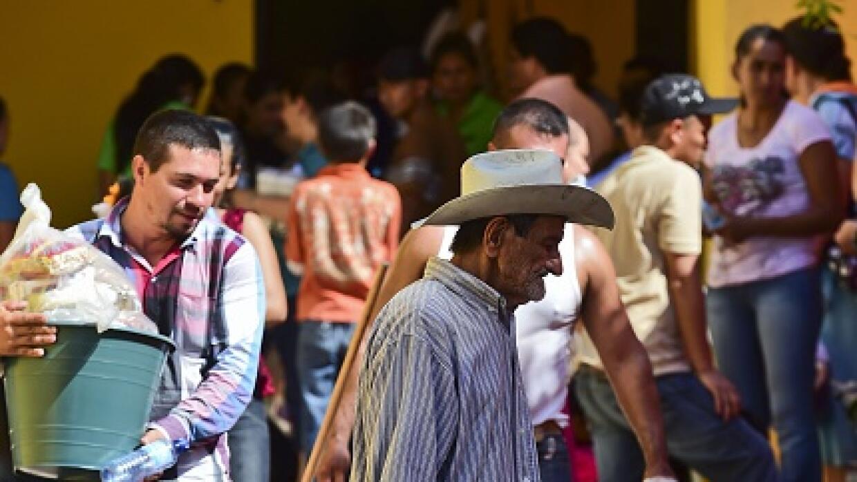 Desplazados por la búsqueda de El Chapo.