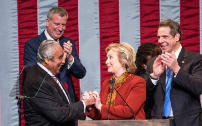 Charles Rangel es respetado por el Alcalde y el Gobernador de Nueva York...