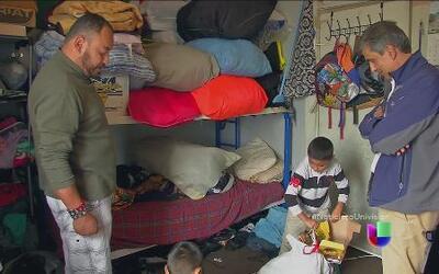 Inmigrantes están pagando altos alquileres por viviendas del tercer mund...