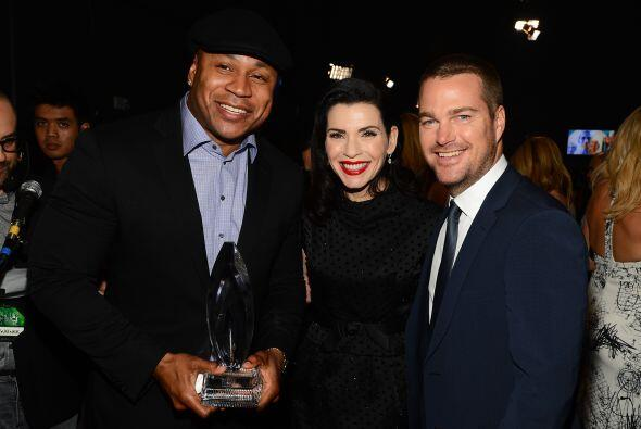 LL Cool J, Julianna Margulies y Chris O'Donnell.