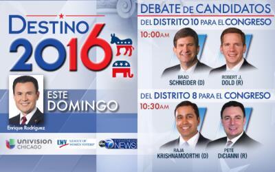 Este domingo 23 de octubre, Univision Chicago y Univision America transm...