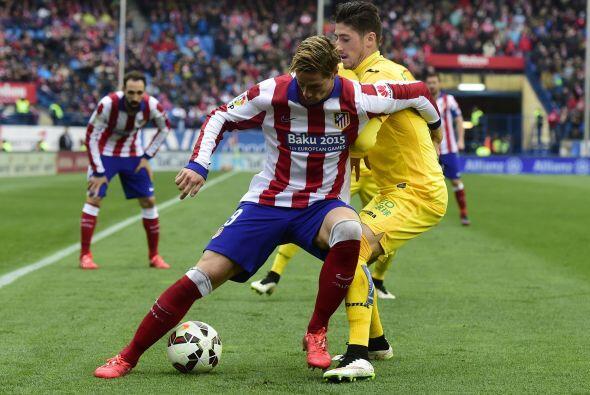 Acciones del partido en el Vicente Calderón correspondiente a la jornada...