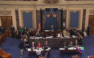 El Senado aprueba fondos por los menores que cruzan la frontera