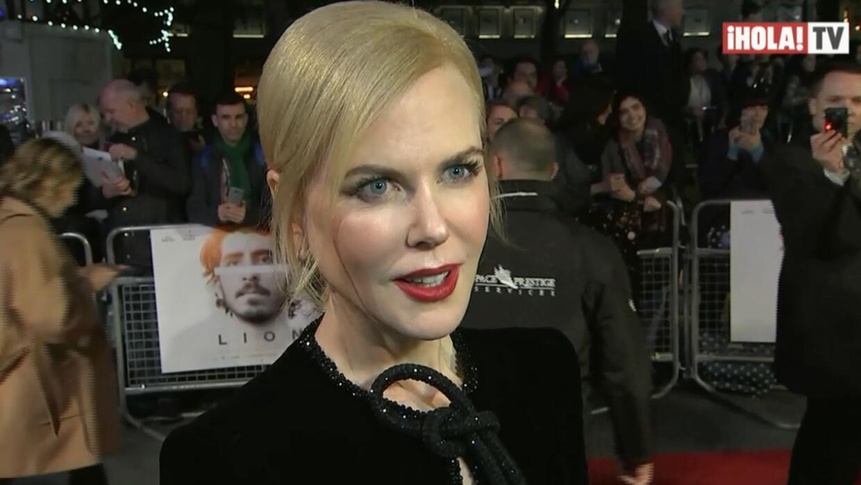 Nicole Kidman estrena 'Lion' en Londres