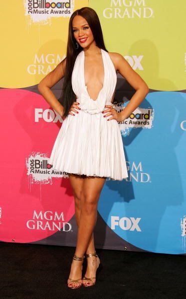 Durante el 'press room' de los  Billboard Music Awards 2006, la cantante...