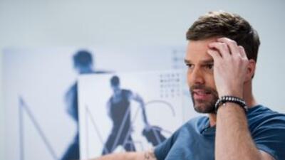 Entrevista Ricky Martin en el W Hotel en Miami Beach. Enero 2011.