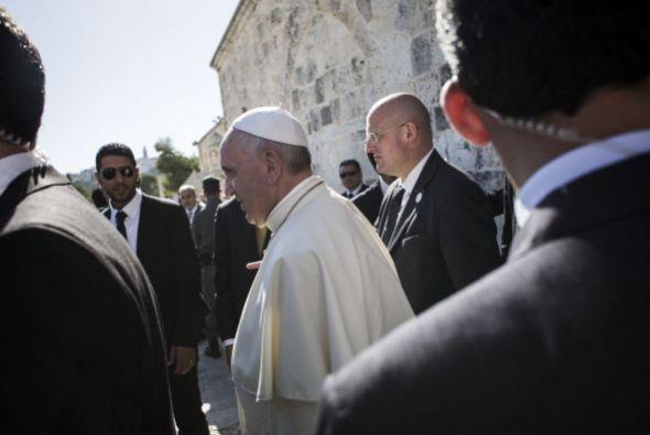 Francisco dijo estas palabras frente al gran muftí de Jerusalén, Mohamad...