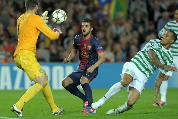 En el segundo tiempo se vio a un Barcelona volcado en busca del gol y un...