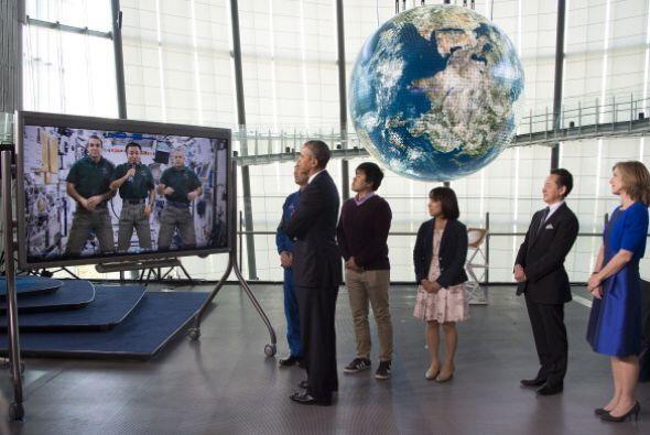Durante la visita de Obama el Museo cerró sus puertas al público.