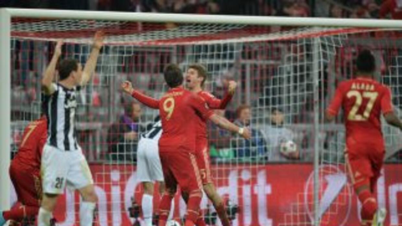 Müller marcó el segundo tanto de los teutones sobre los turineses.