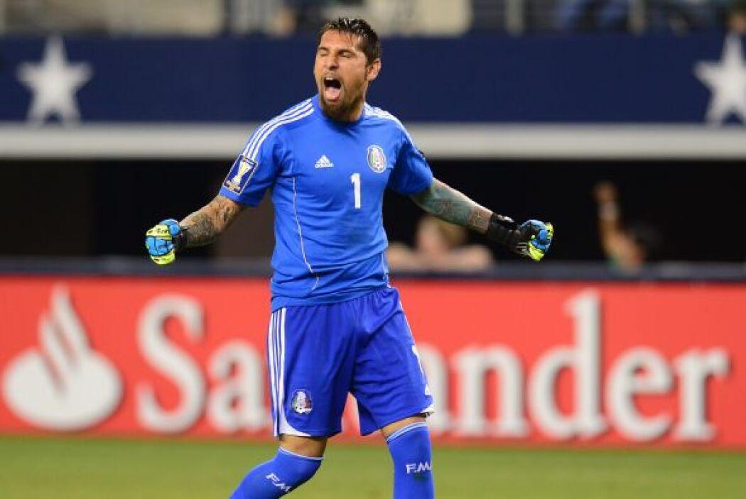 De lo poco rescatable en el partido y en la Copa Oro, fue Jonathan Orozc...
