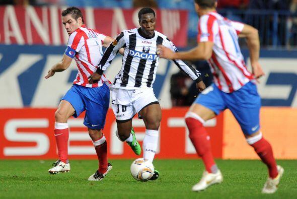 El Atlético de Madrid recibió al Udinese en la Liga Europa con sed de re...