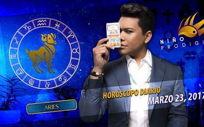 Niño Prodigio - Aries 23 de marzo, 2017
