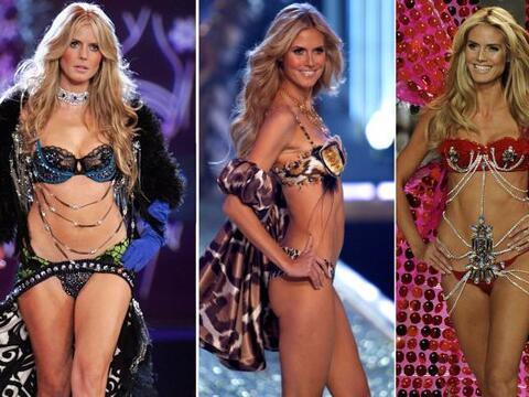 La alemana de 40 años anunció que ya no posará más en sensual y diminuta...