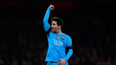 Leo Messi fue la figura del Barcelona por enésima vez