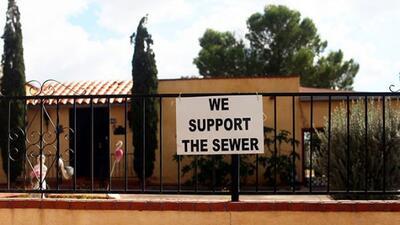 Vinton estaba cerca de obtener agua potable, pero la política y los inte...