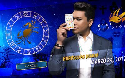 Niño Prodigio - Cáncer 24 de marzo, 2017