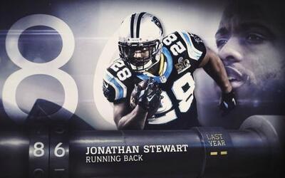 Top 100 Jugadores del 2016: (Lugar 86) RB Jonathan Stewart