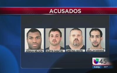 Arrestan a banda de criminales en Fort Bend