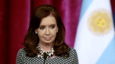 Tras ser dada de alta de un cuadro de sigmoiditis la presidenta argentin...