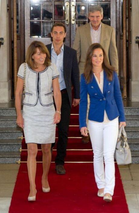 Carole y Pippa Middelton: No por nada sus hijas se han vuelto un ícono d...