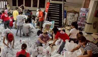 Hasta el momento las personas quequieren ayudar con donaciones para las...