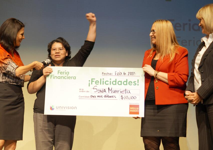 Lo mejor de la cuarta edició de la Feria Financiera que festejó Univisio...