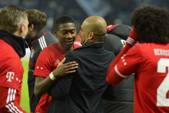 Guardiola hizo historia con su Bayern, que se coronó con siete fechas po...