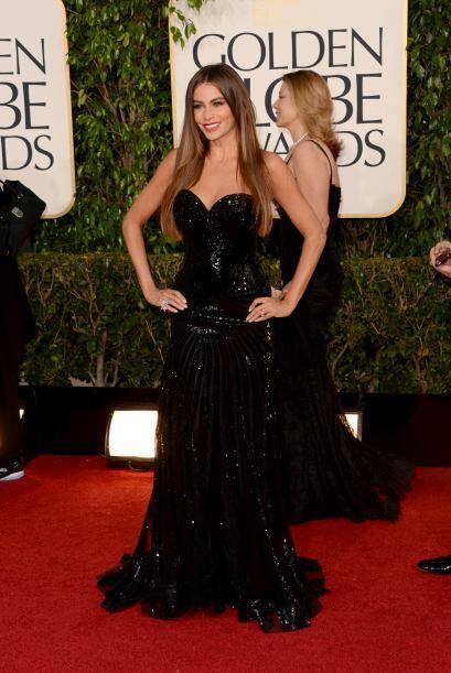 El vestido fue un diseño de Michael Cinco, estaba repleto de lentejuelas...