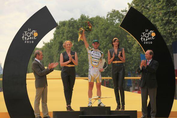 Cavendish, que logró su quinta etapa en el Tour 2010, invirti&oac...