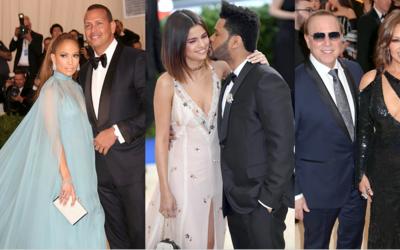 El amor reinó en la alfombra del Met Gala 2017, donde varias parejas des...
