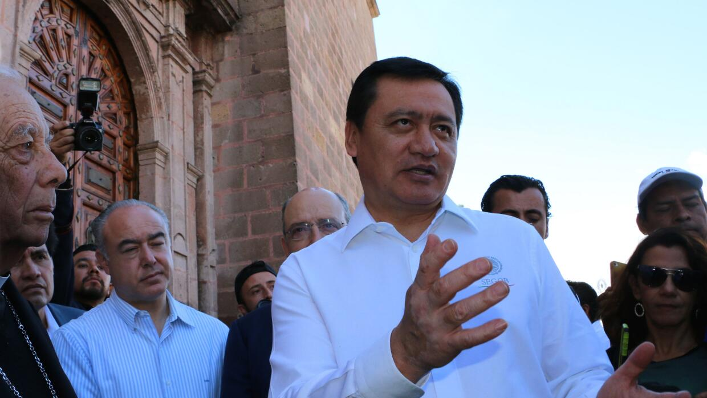 Miguel Ángel Osorio, secretario de Gobernación de M&eacute...