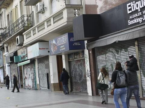 La huelga, la segunda del año contra el Gobierno de Cristina Fern...