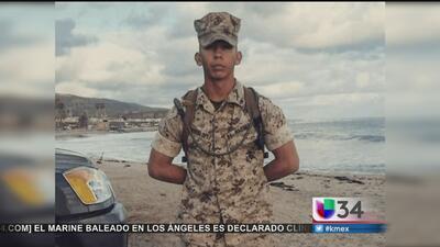 Vigilia en honor Carlos el marine
