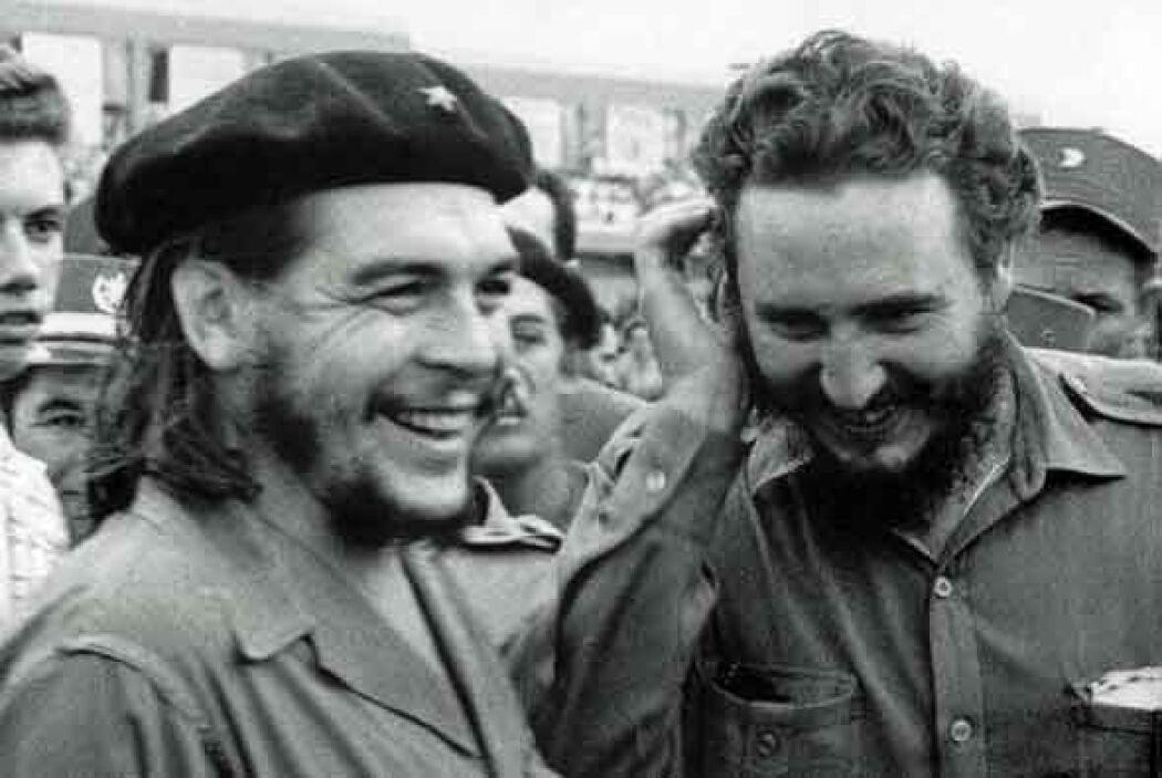 """En México conoció a Ernesto """"Che"""" Guevara. Vencieron a las tropas batist..."""