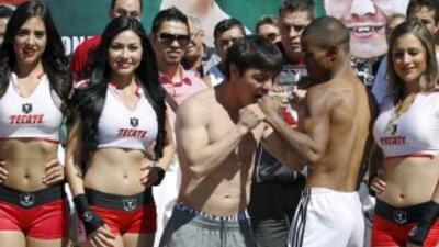 'Travieso' y Silva en peso (Foto: Zanfer)
