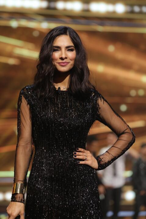 Alejandra Espinoza fue toda una diosa en el estreno de La Banda LIVE. Ha...
