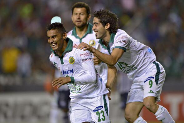 El León tiene muy cerca su pase a la siguiente ronda de la Libertadores...