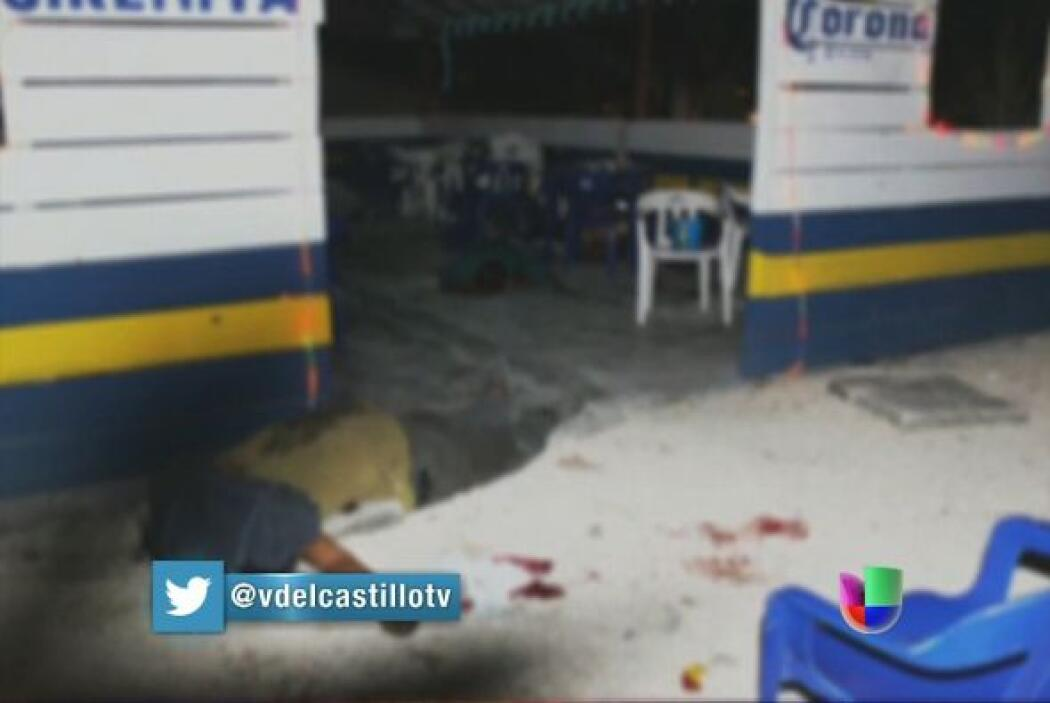"""Un ataque perpetrado en el bar """"La Sirenita"""" por un grupo armado dejó un..."""
