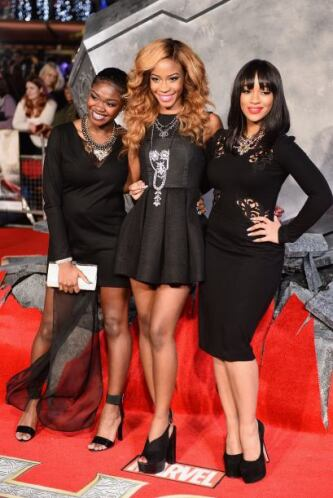 El trío dinámico de Miss Dynamix: Rielle Carrington, Jeanette Akua y SeS...