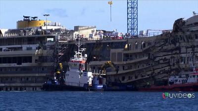 Francesco Schettino vuelve al crucero Costa Concordia