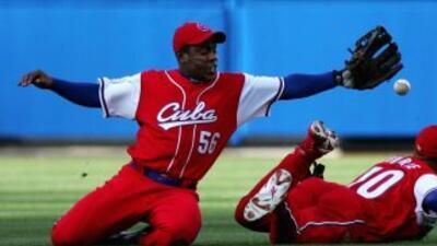 El pelotero cubano Carlos Tabares.