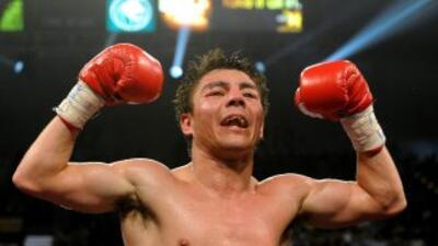 Jorge Arce defenderá el cinturón súper gallo que le ganó a Wilfredo Vázq...