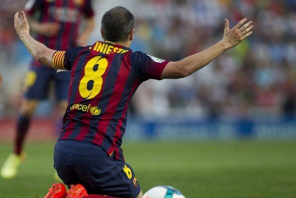 Y es que el Barcelona seguía sin encontrar la anotación con la que se fu...