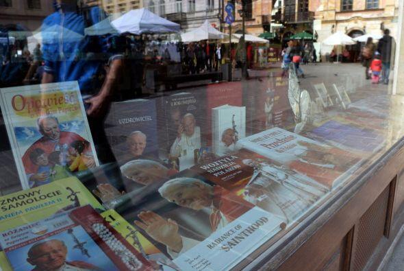 Las calles de Roma también fueron testigo de la venta de libros r...