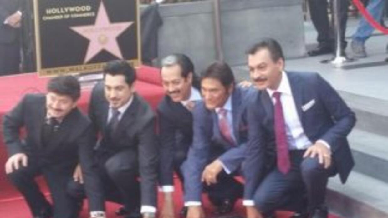 Tigres del Norte en Hollywood