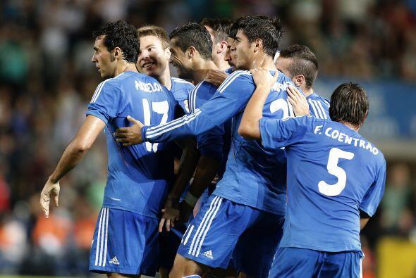 Con este gol, Real Madrid se llevó los tres puntos del campo del...